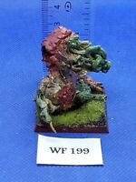 Warhammer Fantasy/40K - Chaos Daemons - Beast of Nurgle Painted - Metal WF199