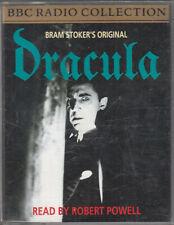 Bram Stoker Dracula 2 Cassette Audio Book Robert Powell FASTPOST