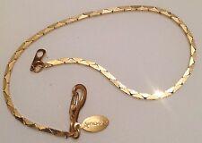 """bracelet rétro couleur or maille déco de marque """"Ambassador"""" 365"""