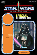 STAR WARS: POWER OF THE FORCE Darth Vader (1985) Repro Kenner Cardback
