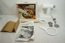 Vtg Kitchen Aid Food Grinder Attachment Model FG-A In Original Box