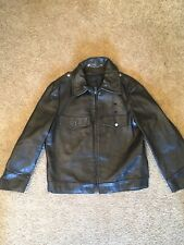 New listing Horsehide Police Jacket