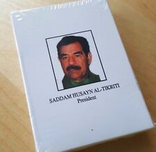 NEW!! IRAQI MOST WANTED PLAYING CARDS deck Saddam Husayn