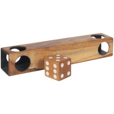 WOOD PROFESSIONAL MAGIC DIE TUNNEL STAGE MAGICIAN TRICK