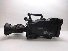 Sony DSP PowerHAD DXC-D30 Studio Camcorder CA-537 w/ Fujinon Aspheric 16X Lens