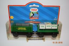 Thomas and & Friends ~Recycling Cars ~ Wooden ~ LC99168 ~ RARE SET ~  NIP ~ NEW