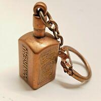 Cointreau France Mini Metal Liquor Bottle Advertiser Keychain Clip Fob liqueur