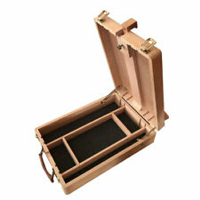 Portable Artist Wooden Table Top Desk Painting Easel Drawer Sketch Box B4