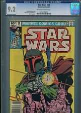 Star Wars #68   (Boba Fett)   CGC 9.2  White Pages