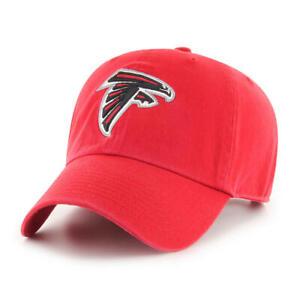 Atlanta Falcons NFL Men's Adjustable Clean-up Team Logo Red Hats / Hat Cap