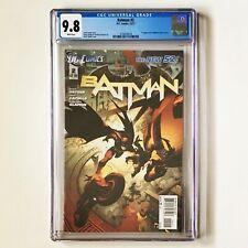 BATMAN #2 CGC 9.8 The New 52! 2011 DC 1st App William Cobb as Talon 1st Print
