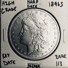 1896 S MORGAN SILVER DOLLAR HI GRADE U.S. MINT RARE KEY COIN 113