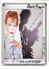 David Bowie Scary Monsters Album Cover Fridge Magnet - Jumbo Size 90mm x 60mm