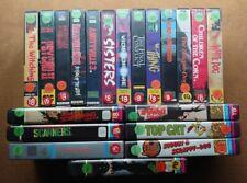 V2000 x20 Video PreCert Horror Collection Bundle Lot Halloween READ DESCRIPTION