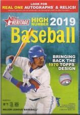 2019 Topps Heritage High Number Baseball Factory Sealed Hanger Box