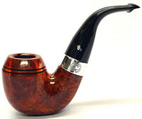 Peterson Sherlock Holmes Baskerville Smooth Silver Mounted Pipe + Free Pipe Tool