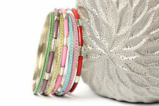 Women's Fashion Dot Design Bohemian Bollywood Bangles Bracelets Multi-Color