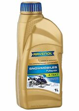 RAVENOL Snowmobile Oil 4-Stroke Full Synthetic – Ski-Doo Polaris Arctic Cat 1L