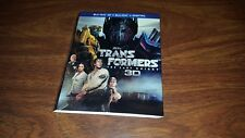 Transformers the Last Knight 3D Bluray Slipcover Only slipcase NO discs