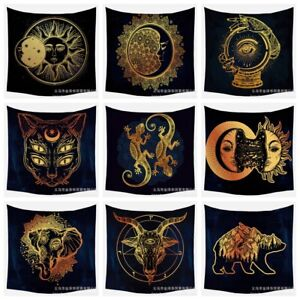Wall Tapestry Hanging Polyester Mat Mandala Pattern Blanket Tapestry Home Decor