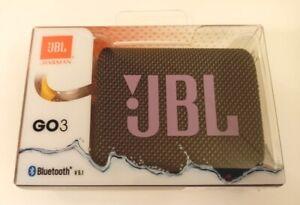 JBL Go 3 Portable Waterproof Speaker