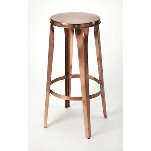 Butler Ulrich Bar Stool, Copper Backless - 4447085