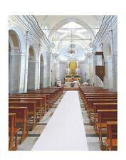 White Floral Wedding Aisle Runner Essential Indoor & Outdoor Wedding 3'x100'