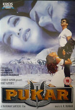 PUKAR - ORIGINAL EROS BOLLYWOOD DVD - Anil Kapoor, Madhuri Dixit.