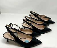 Kate Spade Shiloh Womens Slingback Pointed toe Black Size US 6, 6.5, 7 NEW