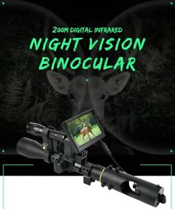 Night Vision Riflescope Hunting Binocular Scopes Infrared Laser Hunting Camera