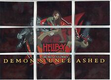 Hellboy Animated Complete Demons Unleashed Chase Card Set D1-9
