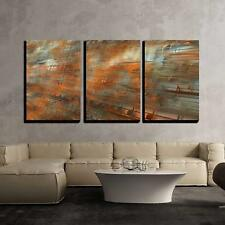 "Wall26 - Musical Background - Canvas Art Wall Decor - 16""x24""x3 Panels"
