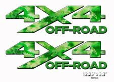 4X4 OFF ROAD Chameleon Camo Forest Decals Bedside Truck Sticker 2 Pack AM42OR4