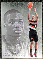 DAMIAN LILLARD 2012-13 PANINI INTRIGUE INTRIGUING PLAYERS ROOKIE CARD RC #134