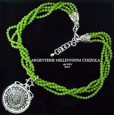 Collana Argento Medusa Ciondolo Gorgona Magna Grecia Silver Necklace MÉDuse