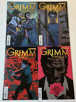 Dynamite NBC tv show GRIMM ~ The Warlock comics #1 2 3 4 ~ FULL SET