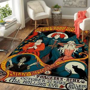 HOCUS POCUS HALLOWEEN Area Rug-Decorative Floor Rug Carpet,Floor Mat ,Carpet Rug