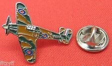 WWII Hurricane Plane Aircraft Lapel Pin Badge World War 2 Aeroplane Brooch