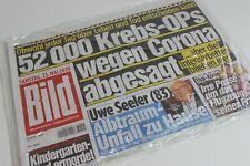BILDzeitung 23.05.2020 Mai   Corona   Uwe Seeler