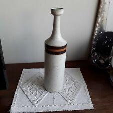 "Vaso Ceramica Gres Di Bruno Gambone Vintage Anni 70"""