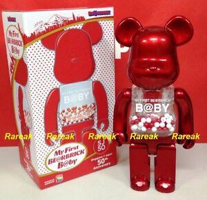 Medicom 2016 Be@rbrick My First Baby 400% Red SJ50 Singapore / Japan Bearbrick