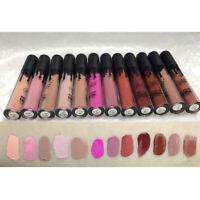 12 Colors Makeup Long Lasting Liquid Matte Lip Gloss Lipstick Waterproof