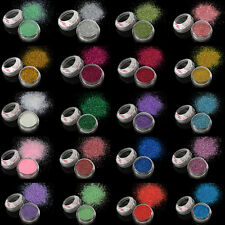 Fine Shimmer Glitter Dust Pot for Cosmetic Face Eye Body Nail Various 38 Colors