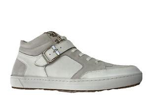 BIRKENSTOCK  Sneakers  10 43  mens  Leather High Top Shoe Range White