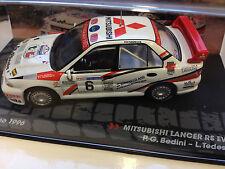 Mitsubishi Lancer RS Evo III San Marino 1996 1:43 SCALE RALLY DIECAST CAR IXO