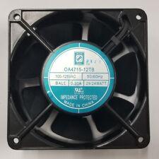 NEW Orion Fan OA4715-12TB 120mm x 38mm 115V AC Cooling Fan, 110 CFM