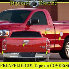 07-08 Dodge RAM 1500 Chrome Door Handle Covers NoPK+Tailgate+TailLight Bezel+Gas