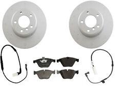 For BMW E60 Sedan 525i 528i 530i Genuine Front Brake KIT Rotors Pads & Sensors