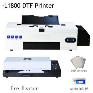 DTF Transfer Printer L1800 Direct to Film Dark / White Garments Printing