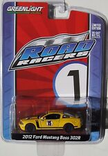 GREENLIGHT ROAD RACERS SERIES 1 2012 FORD MUSTANG BOSS 302R Yellow 1:64 Rally